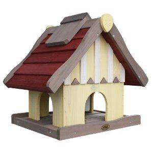 Habau Vogelhaus Norwegen mit Silo und Ständer für 58,70€