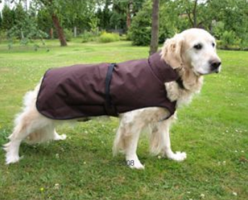 Hunde Regenmantel Authentic Brown ab 9,99€ + Versand