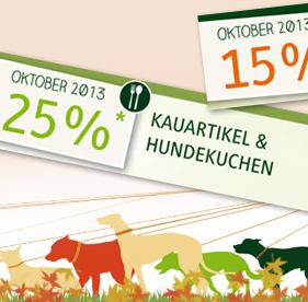 25% auf Kauartikel / 15% auf Kalender bei alsa-hundewelt