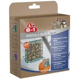 8in1 Birdola Ring / Block Feeder - Futterspender für Wildvögel für 5,59€