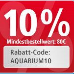 10% auf Aquarien - bei Fressnapf