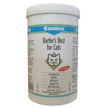 *NUR HEUTE* 500g Canina Pharma Barfers Best for Cats für 15,96€ + Versand
