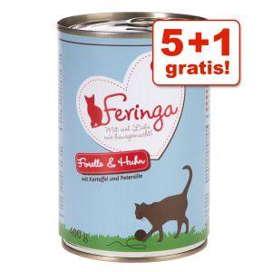 6 x 400 g Feringa Menü Duo-Sorten ab 7,49€
