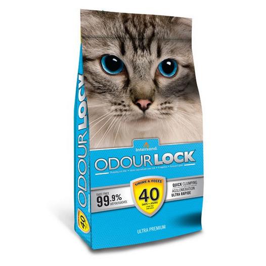 6kg OdourLock Katzenstreu gratis zum Einkauf