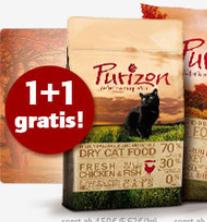1 Sack Purizon Trockennahrung für Hunde und Katzen kaufen und weiteren Sack kostenlos erhalten