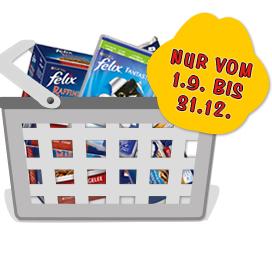 Felix Geld zurück Garantie: Futter im Wert von bis zu 10€ kostenlos erhalten