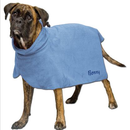 Badetuch für Hunde mit individueller Bestickung schon ab 8,95€ + Versand - verschiedene Größen