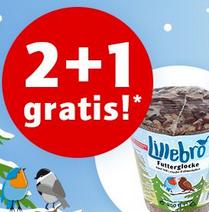 2+1 Lillebro Wildvogelfutteraktion bei Zooplus