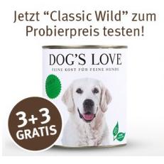 Dog's Love Hundefutter bei ZooRoyal zum Probierpreis
