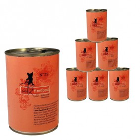 *KNALLER* 6x400g Catz Finefood Katzenfutter für nur 9,99€ - als Neukunde noch günstiger!