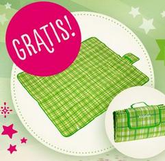 Picknickdecke kostenlos bei Zooplus zum Dazubestellen