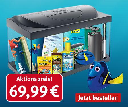 """*TOP* Tetra """"Findet Dorie"""" Aquarium mit Zubehör dank Gutschein für nur 59,49€"""