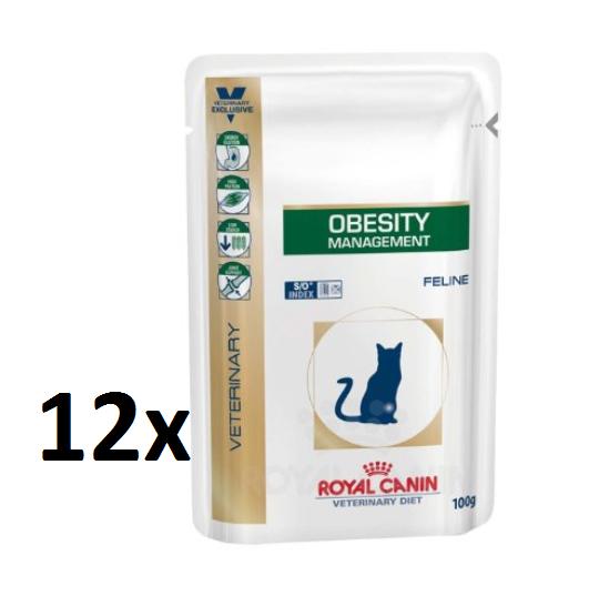 *KNALLER* 10 Frischebeutel (a 100g) Royal Canin Obesity für 2,29€ bei Amazon