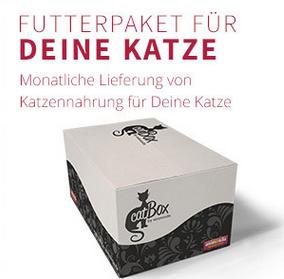 animonda catBox - monatliches Futterpaket + Spielzeug + Gratisartikel