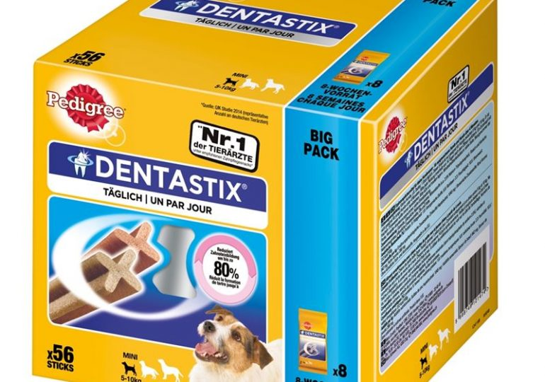 FutterPlatz: Bis zu 26% Rabatt auf Dentastix Big Pack Boxen und FITBIT Fitnessarmband Gewinnspiel
