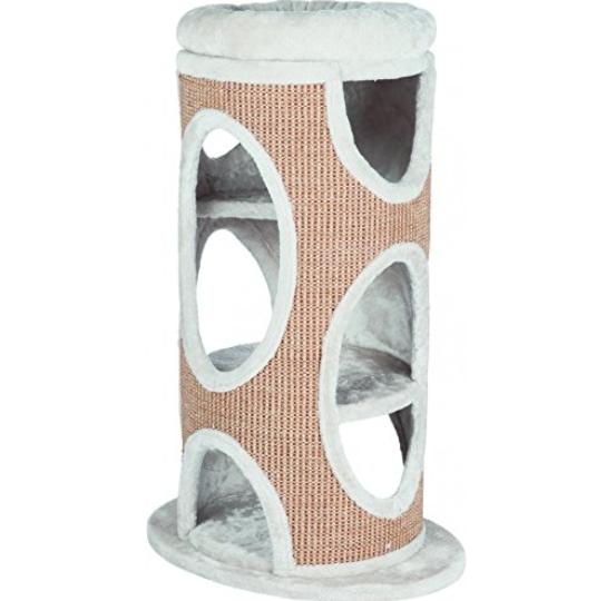Trixie 44706 Cat Tower Ria, lichtgrau/natur 83cm hoch für 63,11€