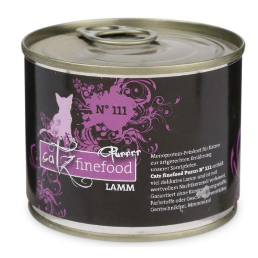 ZooRoyal Miau-Deal des Tages: CATZ Finefood No. 111 Lamm 200g für 1,19€