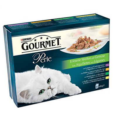Gourmet Perle Katzenfutter 10er Pack (10 x 8 x 85 g) für 14,34€
