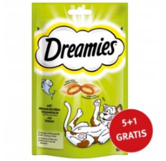 ZooRoyal: 5 Dreamies kaufen + 1 Gratis