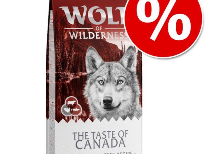 """Zooplus: Prämien des Monats - z.B. 1 kg Wolf of Wilderness """"The Taste Of Canada"""" für 99 Punkte"""