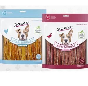 ZooRoyal Wau-Deal des Tages: DOKAS Hundesnack in Streifen, je 500g für 5,99€