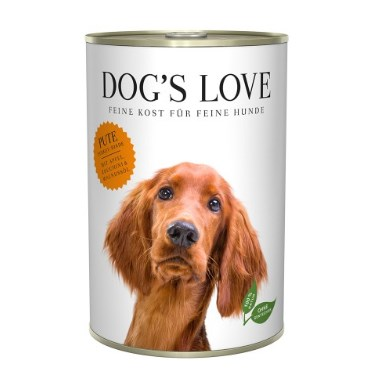 ZooRoyal Wau-Deal des Tages: DOG'S LOVE Classic Pute, 400g für 1,79€