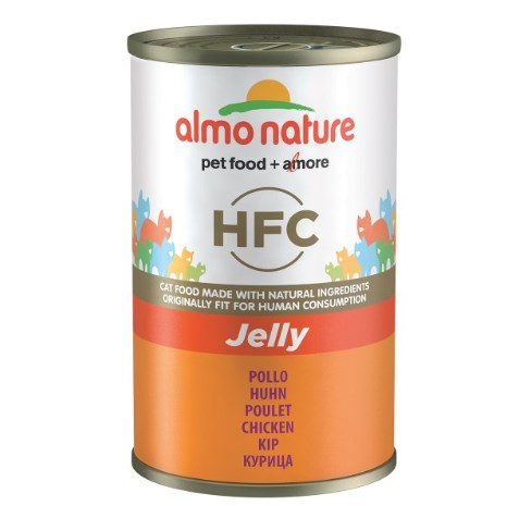 ZooRoyal Miau-Deal des Tages: Almo Nature HFC Jelly Cat Huhn 140g für 1,09€