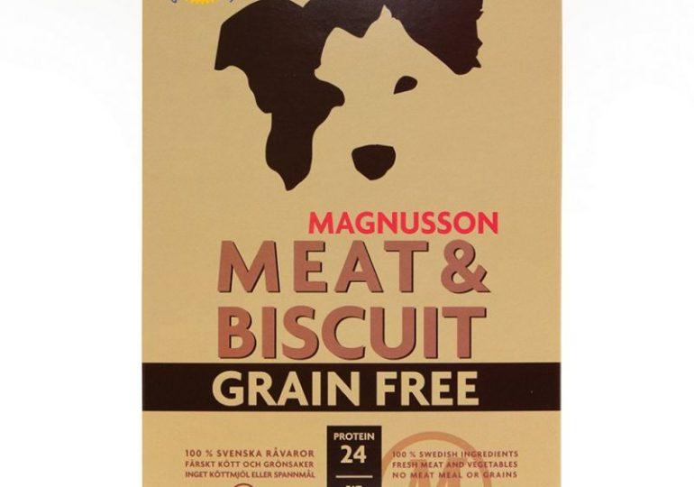 Gratis mitbestellen: 600g Magnusson Meat & Biscuit Grain Free Hundefutter bei Zooplus