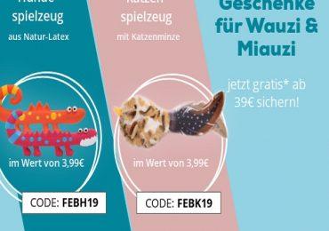 ZooRoyal: Katzen- & Hundespielzeug bei Bestellungen ab 39€ geschenkt bekommen