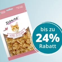 ZooRoyal: Bis zu 24% Rabatt auf Hunde- & Katzensnacks